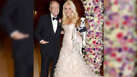 Hugh Hefner Ties the Knot!   Entertainment Tonight