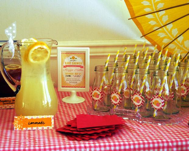 Pink Lemonade Baby Shower Baby Shower Ideas Themes Games