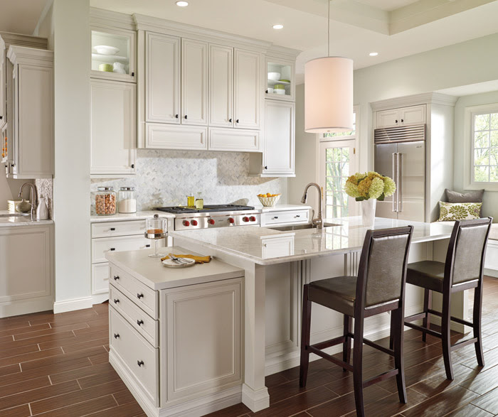 Off White Kitchen Cabinets - Decora Cabinetry