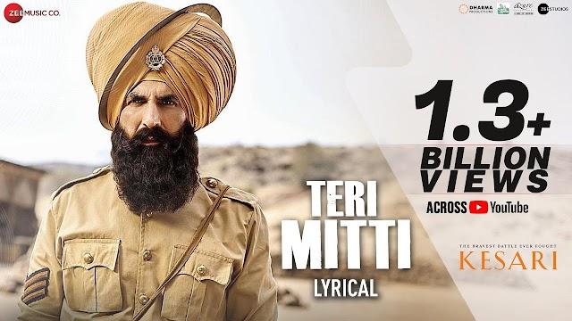 Teri Mitti Lyrics in Hindi - Kesari | B Praak