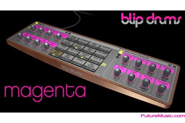 Blip Drums Magenta