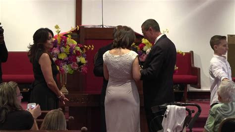 Pastor Jerry Lynn's Wedding Ceremony   YouTube