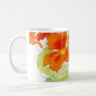 Nasturtium Mug mug