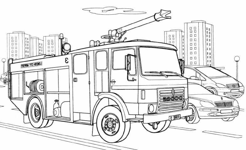 Najnowszy Straż Pożarna Kolorowanka Do Wydruku Kolorowanki Do Druku