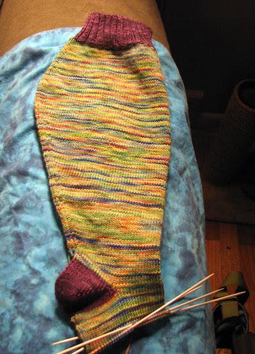 Funny looking sock