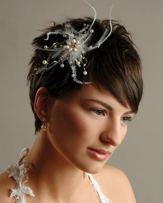 Frisuren Für Hochzeit Kurze Haare