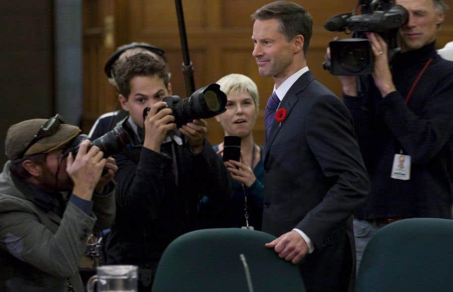 Ancien chef de cabinet de Stephen Harper, Nigel Wright est celui qui a remis à Mike Duffy ce chèque aujourd'hui devenu célèbre.