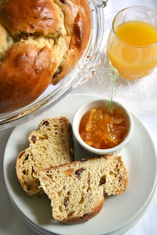 Orange Raisin Brunch Bread