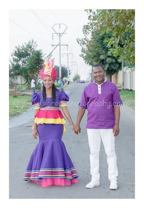 34 Sepedi Traditional Wedding outfit Pictures 2018   Fashionre