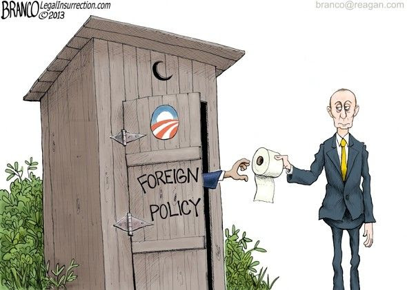 La presse a vu avec la joie au cœur Poutine aider Obama à se sortir de son propre bourbier