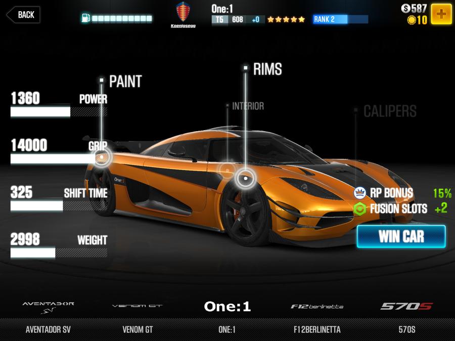 Csr  Stage  Cars