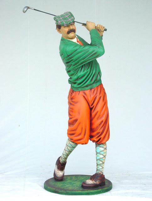"""Classic Golfer Statue, 75""""H - Home Decor - dallas - by The ..."""