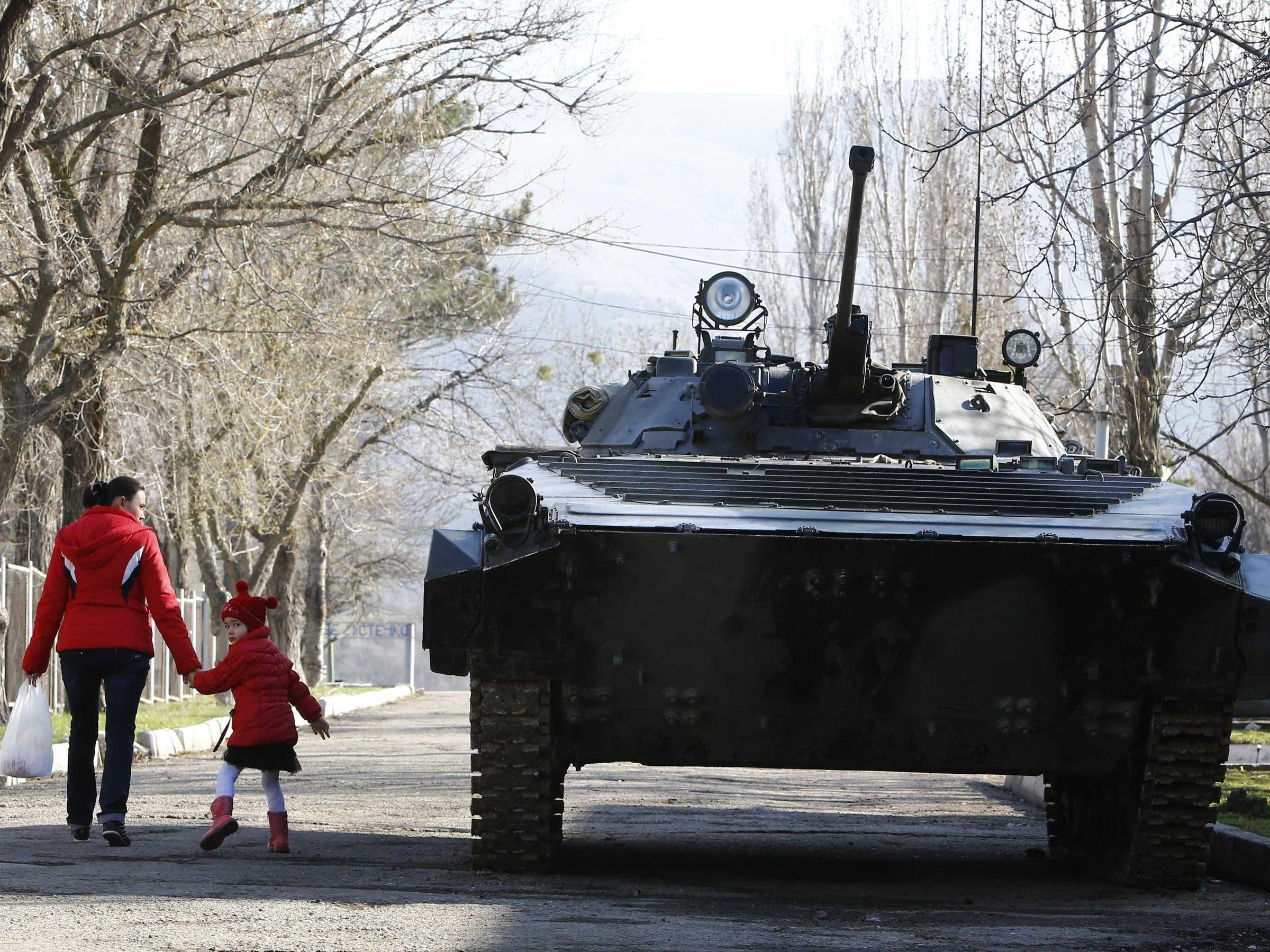 crimea annexed russian vehicle