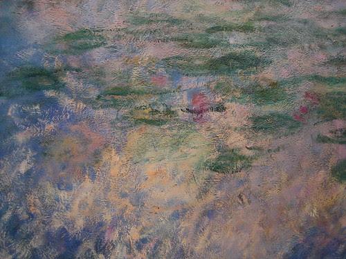 Water Lilies (details), 1914-26, Claude Monet _7484