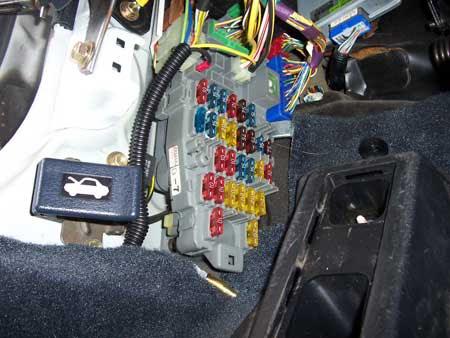 93 civic under dash fuse box diagram image 3