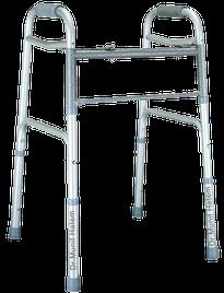 Usar andador para problemas no quadril, fraturas do fêmur e artrose
