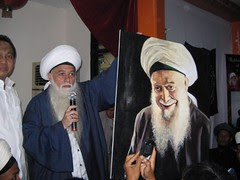 MSH is doing auction of Shaykhs' painting