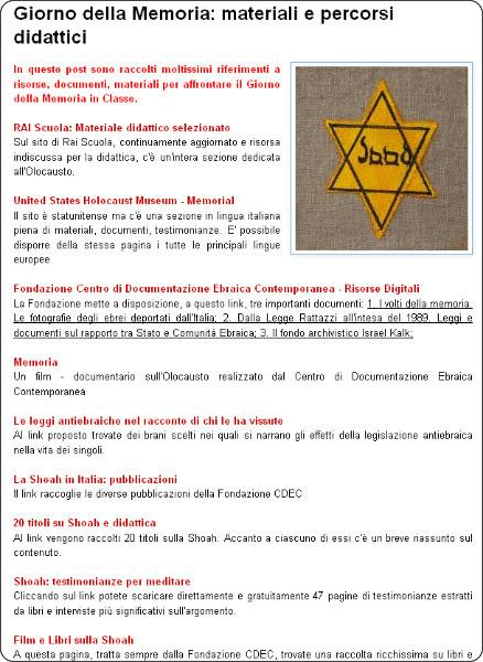 http://guamodi.blogspot.it/2014/01/giorno-della-memoria-materiali-e.html