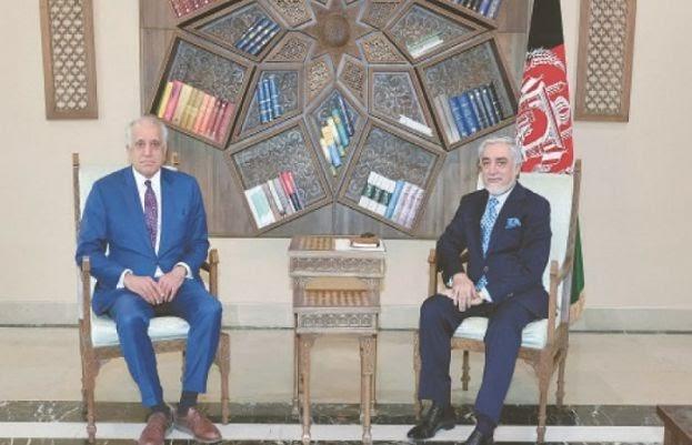 Khalilzad meets Abdullah in Kabul to speed up peace process | World News