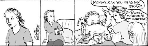 Home Spun comic strip #113