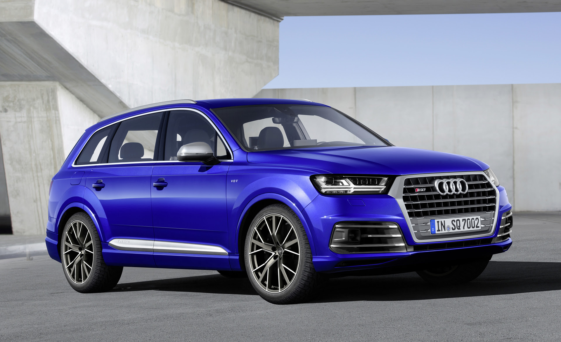 Audi SQ7 TDI debuts with electric compressor, 663 lb-ft of ...