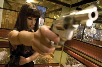Alicia Keys in the 2006 action flick SMOKIN' ACES.