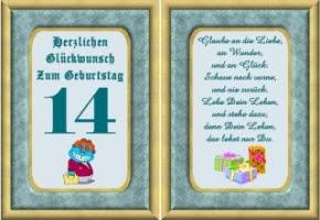 Geburtstagswünsche Zum 14, Geburtstag | bellanorasatcy blog