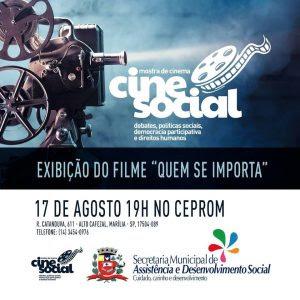 Divulgação Cine Social