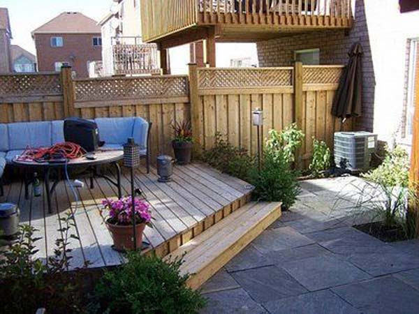 wow  23 small backyard ideas how to make them look spacious and cozy