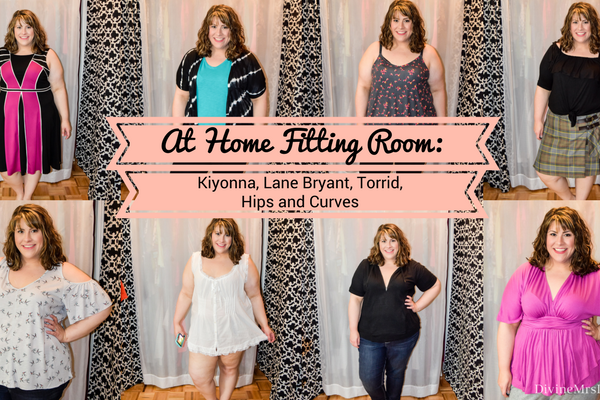 At Home Fitting Room: Kiyonna, Lane Bryant, Torrid, Hips and Curves