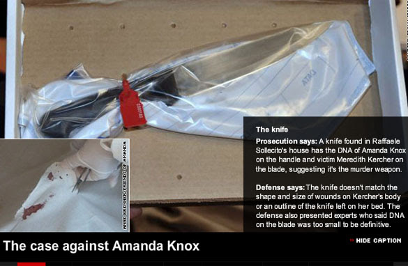 amanda knox trial photos. Amanda Knox is accused of