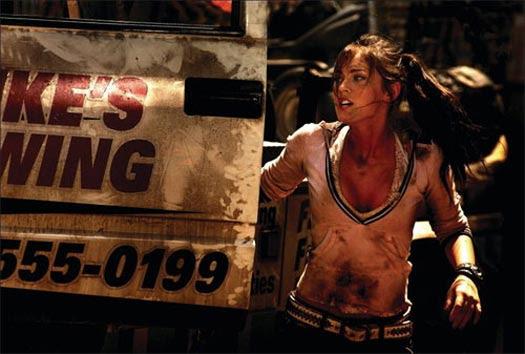 shia labeouf and megan fox in transformers 2. Remember Megan Fox? In