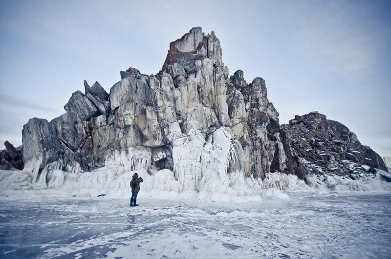 Isla Olkhon invierno