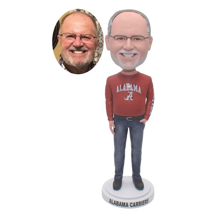 Personalized Fathers Day Bobbleheads Great Gifts For Fathers On Birthday