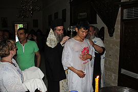 A Taoist and Student of Medicine is Baptized Orthodox
