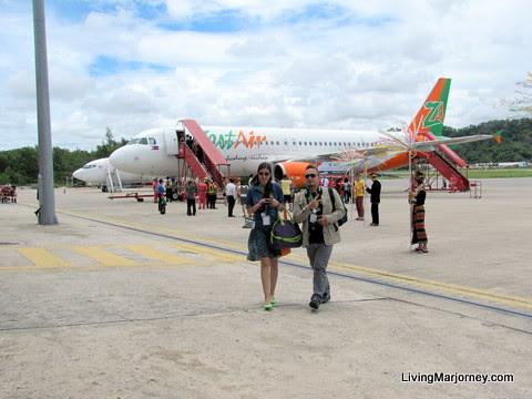 Zest Air's Maiden Flight To Kota Kinabalu, Sabah