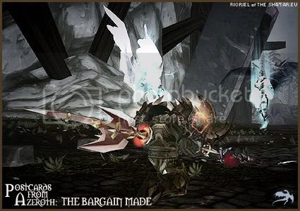 Postcards of Azeroth: The Bargain Made, by Rioriel of theshatar.eu
