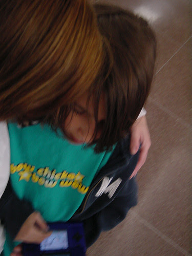 hugging Youngest