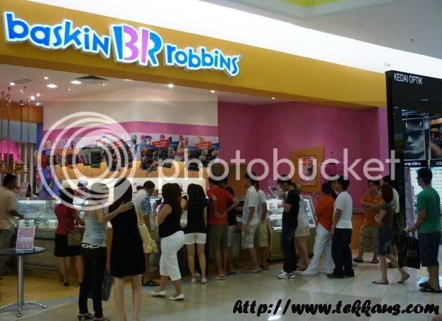 Baskin Robbin Ice Cream