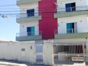 Acidente ocorreu neste prédio no bairro Mossoró (Foto: Lucas Costa / Inter TV)