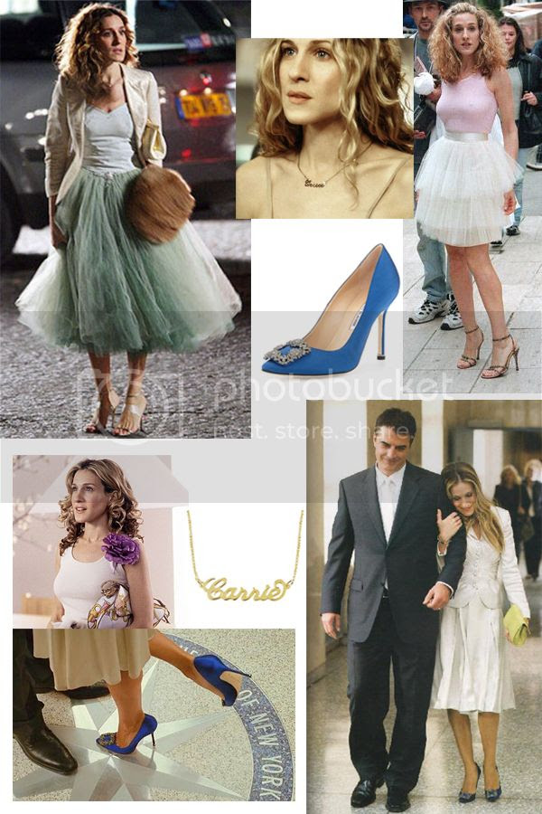 Sex and the City fashion, Carrie Bradshaw Style