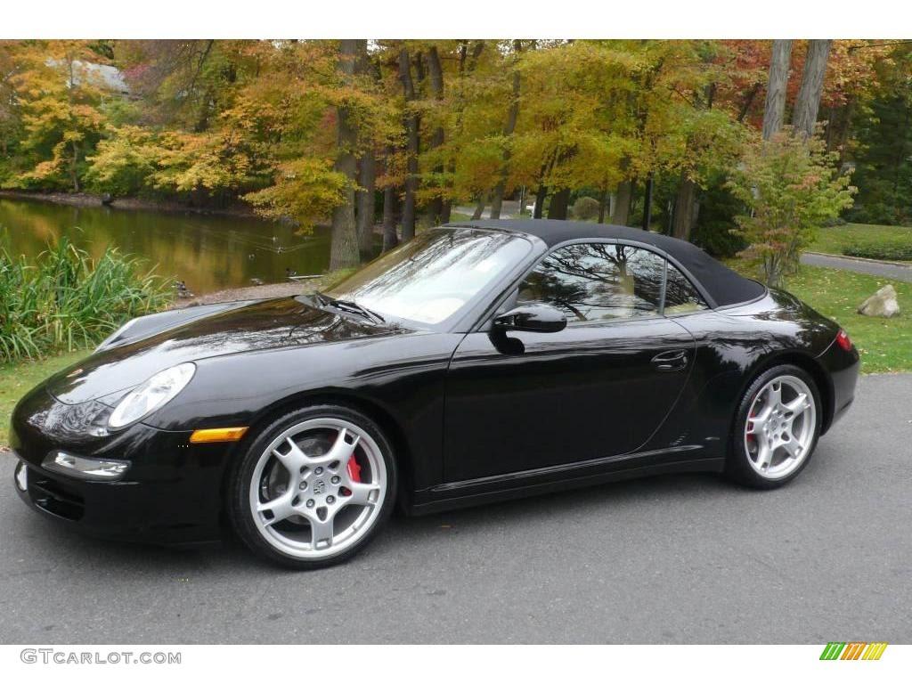 2006 Black Porsche 911 Carrera 4s Cabriolet 20293893