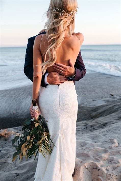 Ryan and Stefani's California Beach Wedding   Intimate