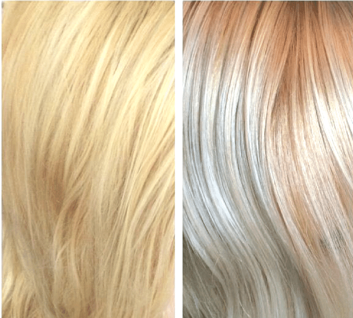 Toner For Blonde Hair Before And After