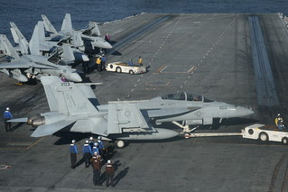 Visit to the USS George H.W Bush - Nimitz Class Super carrier in the Atlantic Ocean #dvembark November 2013