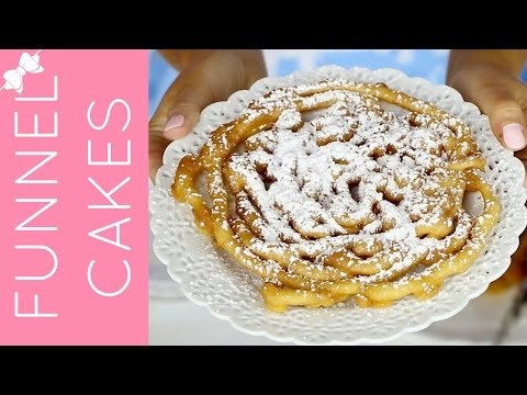 Easy Pancake Mix Funnel Cakes