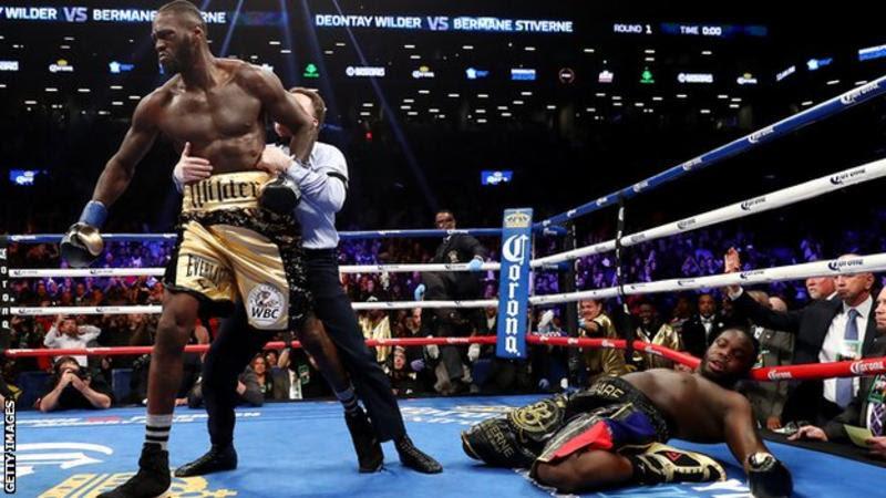 Deontay Wilder Destroys Stiverne in First Round, Declares War on Anthony Joshua