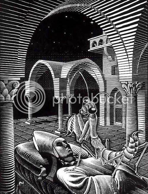 Escher - Sonho - Perspectiva Oblíqua