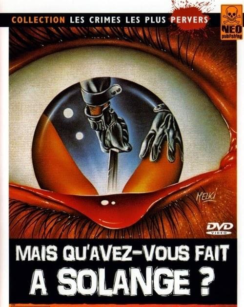 Mais quavez-vous fait à Solange ?, un film de 1972