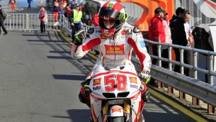 fello motogp riders pay tribute to marco simoncelli